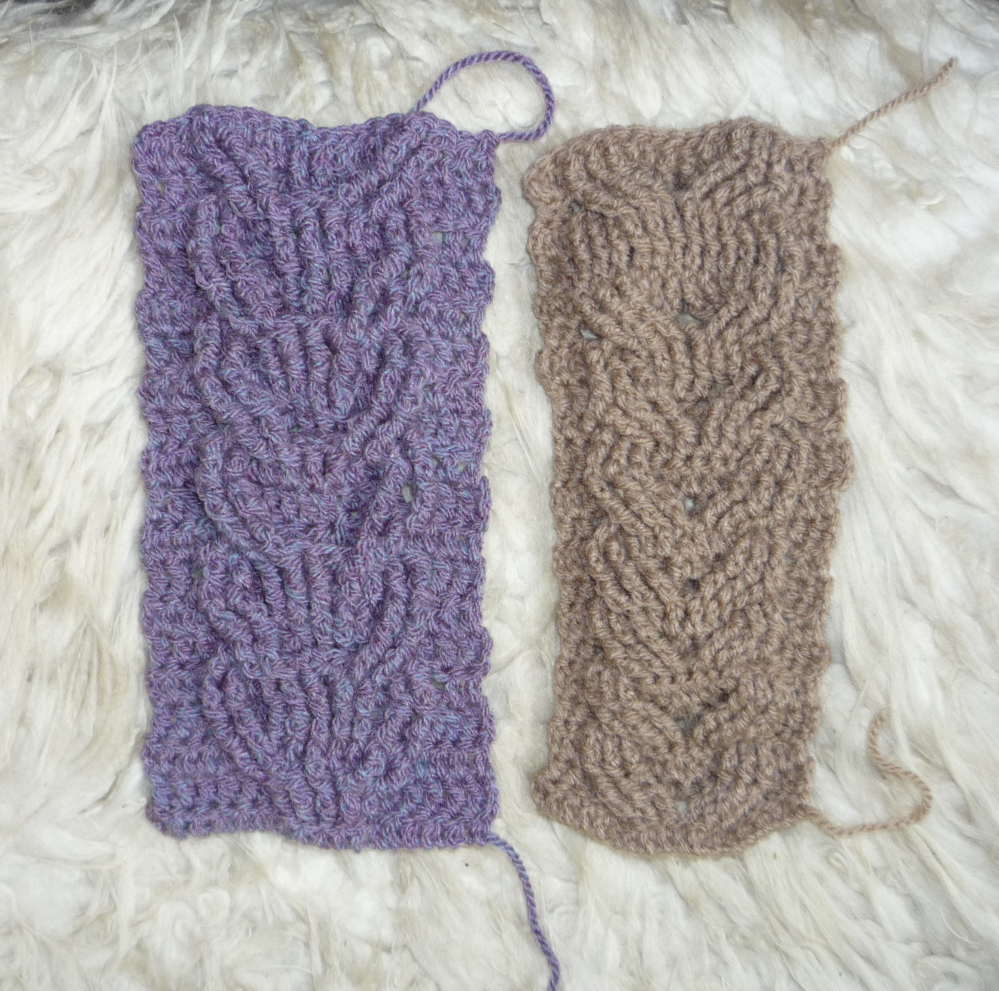 Crochet Cable Stitch Instructions : Crochet cables Knotrune