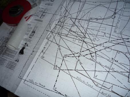 1920s pattern sheet.
