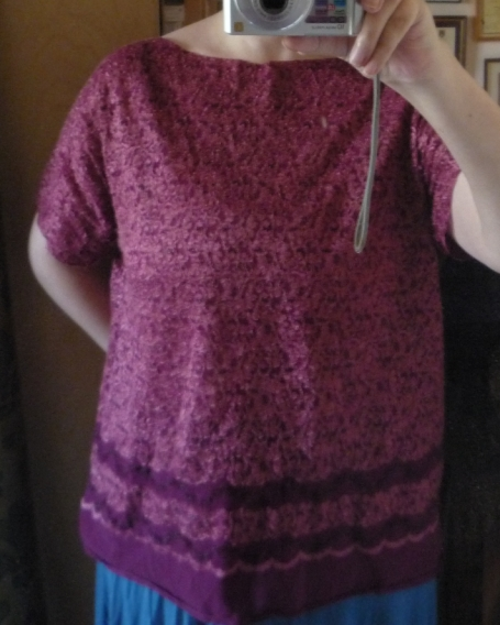 Bad picture of my 1920s style top.