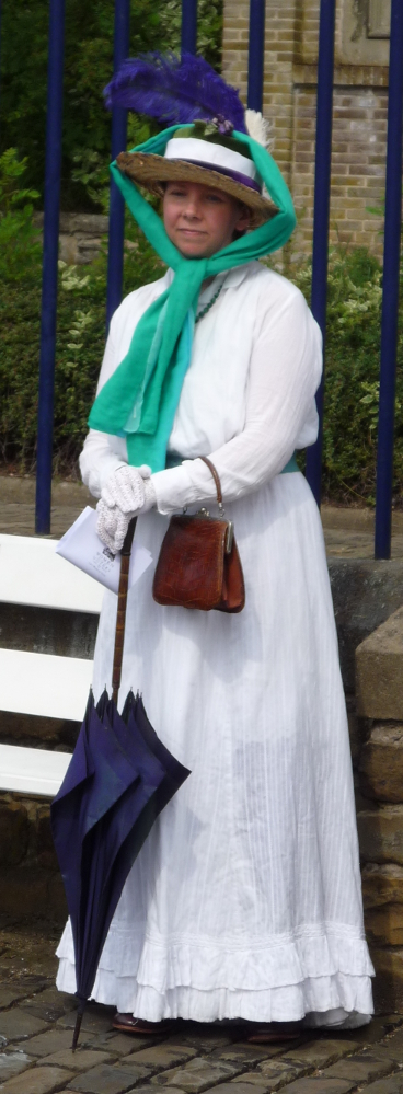 Me as a suffragette.
